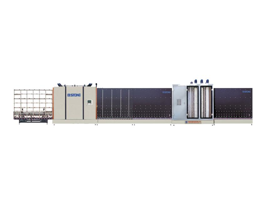立式自动板内合片中空玻璃生产线(三毛刷、自动合片、板压)