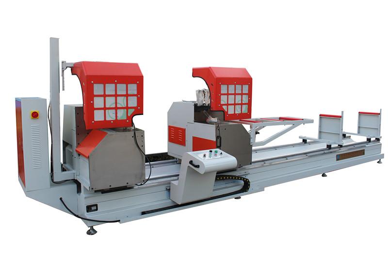铝塑型材高效双头切割锯床