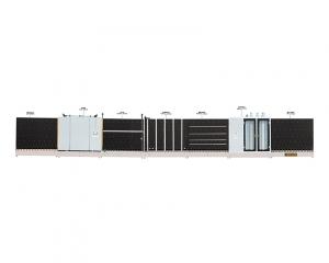 河北豪华立式自动板内、板外合片多功能中空玻璃生产线