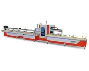 吉林全自动铝型材锯切加工中心LJZ4-CNC-500×6000